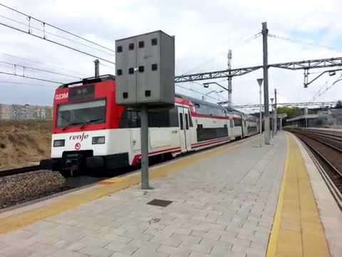 Bobinero doble tracción 253 y unidad 450 en Santa Eugenia Madrid
