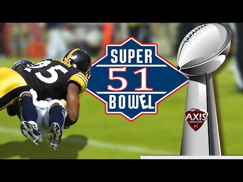 SUPER BOWEL 51 - Axis Football 2016 Gameplay