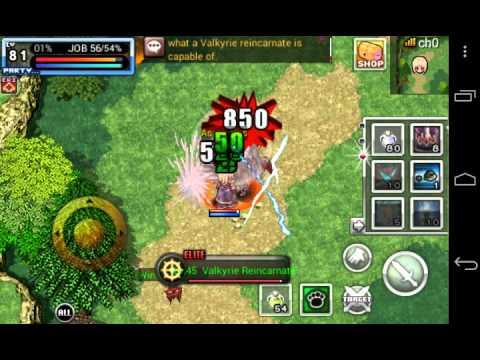 Ragnarok Valkyrie Uprising Dps Knight Baphomet Solo