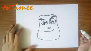 Gambar cover How to Draw Buzz Lightyear