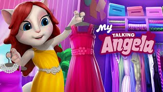 My Talking Angela Great Makeover My Talking Tom Episode Full Game for Children HD