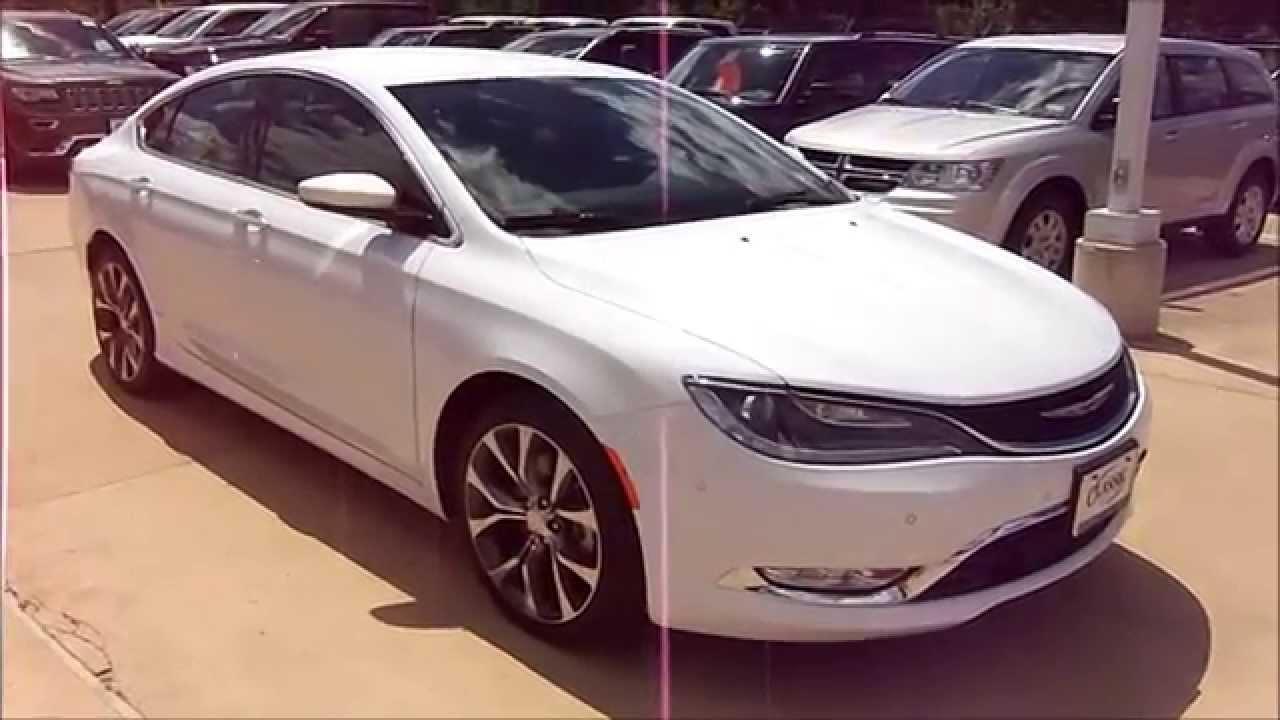 Awesome 2015 Chrysler 200C Start Up, Exterior/ Interior Review   YouTube
