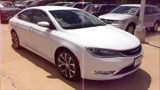 2015 Chrysler 200C Start Up, Exterior/ Interior Review