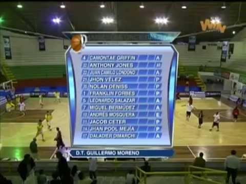 Chris Moore: [Colombia-LigaDirecTV Full Game] *Caribbean Heat vs Once Caldas [10/1/13] 20PTS,18REBS