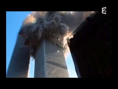 Terrifying, Close Up, Street Level Shot of First World Trade Center Collapse. September 11th 2001