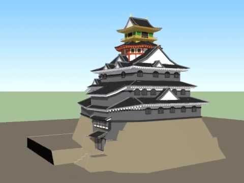 『安土城』模型posted by Meldersv