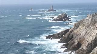 La point du Raz - Des rafales de vent jusqu'à 80 km/h - Finistère -- 1 --