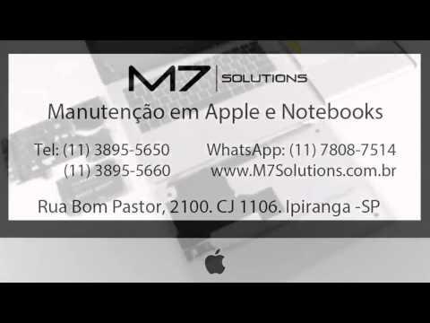 M7 Solutions   Manutenção de Notebook