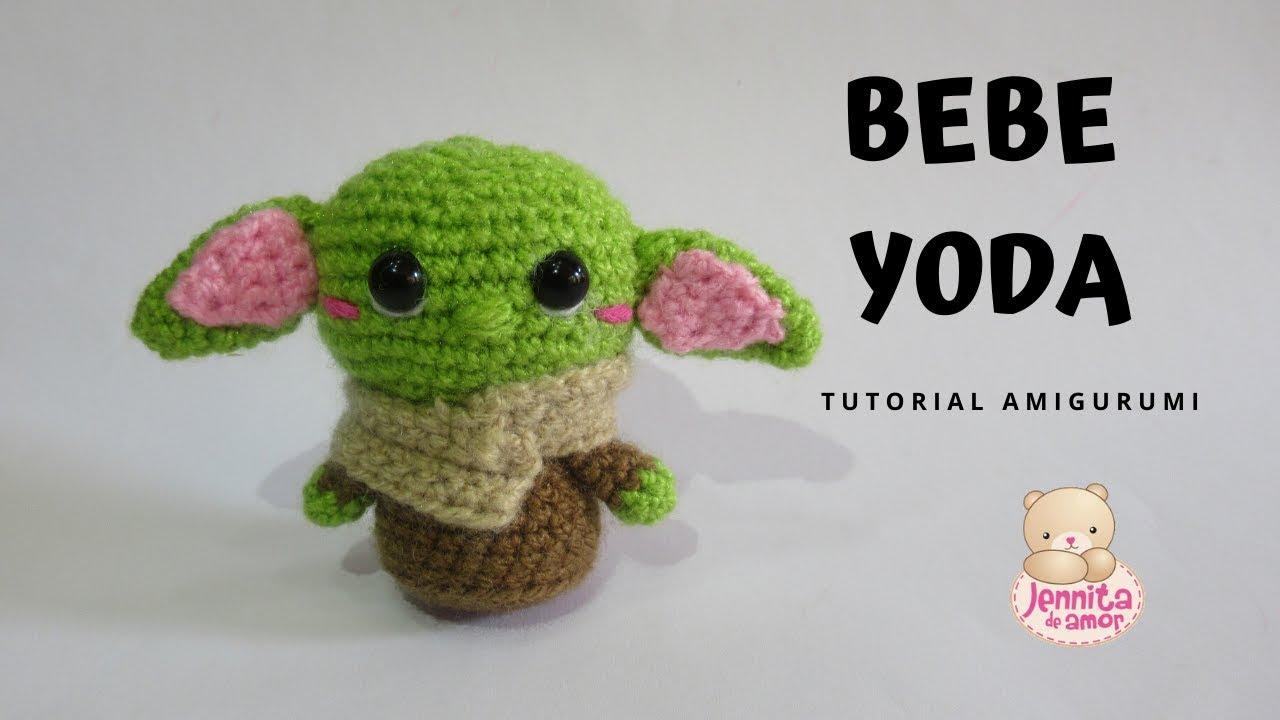 Tutorial Baby Yoda Amigurumi   Ganchillo - Crochet   Lanas y ...   720x1280