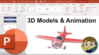 3D Models and 3D Animation in PowerPoint