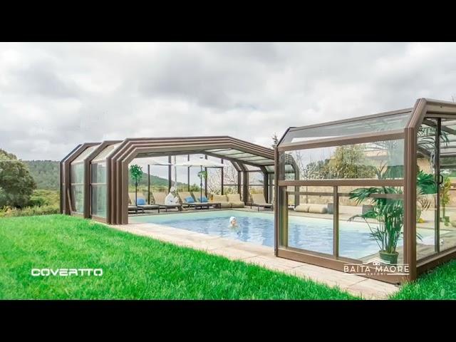 Cubiertas de piscina COVERTTO, un lujo a tu alcance