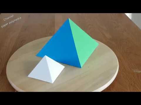 Paper Pyramids Tutorial