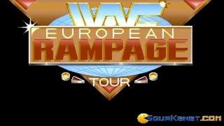 WWF: European Rampage Tour gameplay (PC Game, 1992)