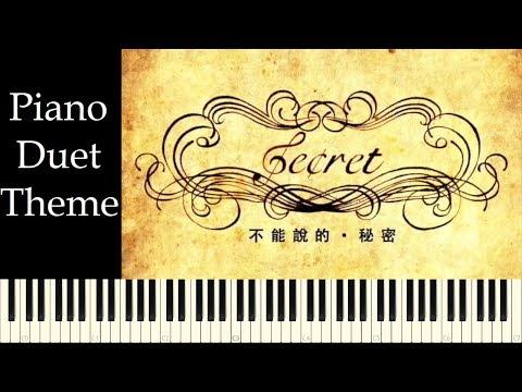 ♪ Secret OST: Piano Duet Theme - Piano Tutorial