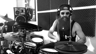 Waitin`for the bus  zztop Drum Cover OviBecDrum4v