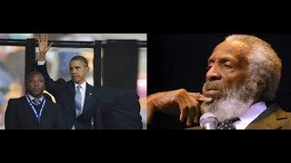 "DICK GREGORY: SINISTER MESSAGES By ""Deaf Interpreter"", MANDELA FUNERAL!!"