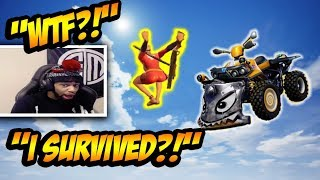 Daequan *DISCOVERS* NEW Quadcrasher BUG? Funny Fortnite Clips & Crazy Moments!