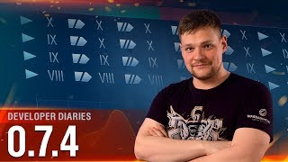 Developer Diaries: Update 0.7.4 [World of Warships]