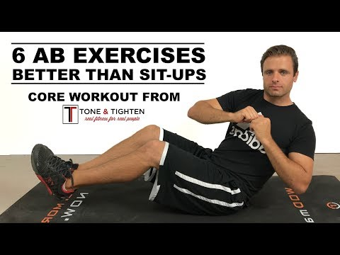 6 Ab Exercises That Work Better Than Sit-Ups