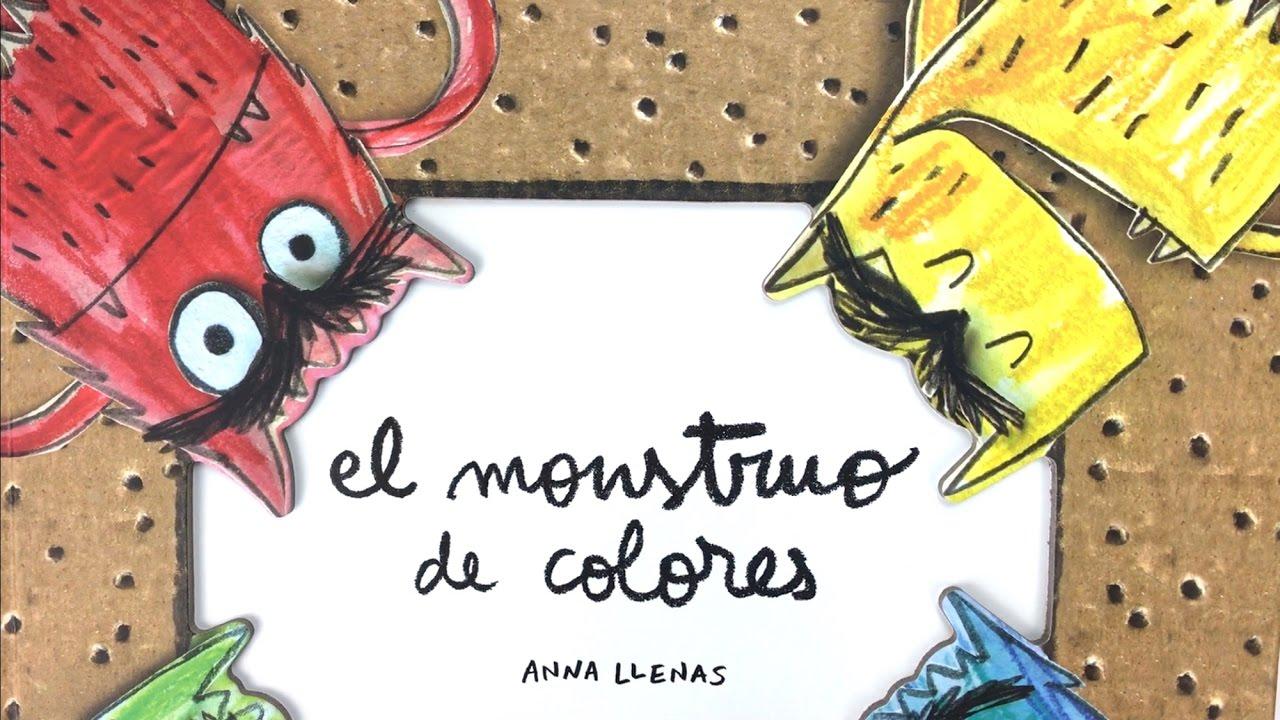 El monstruo de colores - Libro pop-up de Flamboyant - Una Mamá ...