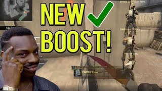 SICK NEW BOOST ON OVERPASS! TWIST VAC 1 VS 2 CLUTCH! BEST OF TWITCH CS:GO #251