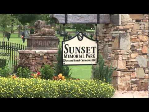 Sunset memorial park support youtube for Sunset memory garden funeral home