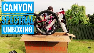 2018 Canyon Spectral AL 6.0 Unboxing and Assembly