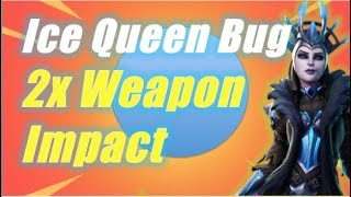 Ice Queen Bug, Double Weapon Impact / Fortnite