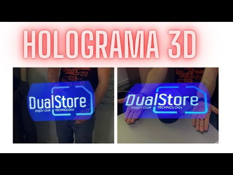 3D Hologram Fan - Official unboxing by DualStore.ro in 4K