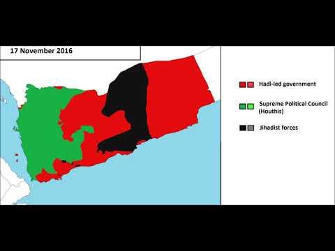 The Yemeni Civil War, every week