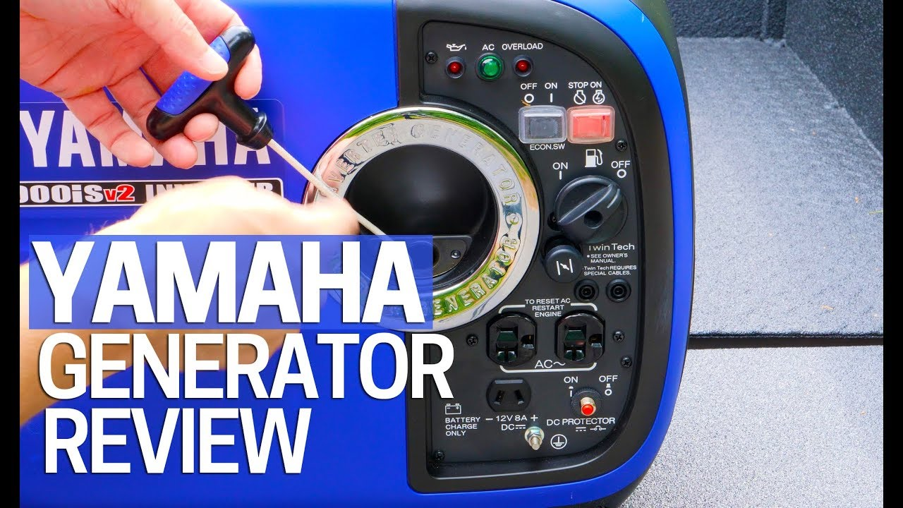 Yamaha Inverter Generator EF2000is V2 Review 2000 Watt - Portable Generator