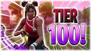 BOT COMES IN TIER 100! -Dansk Fortnite