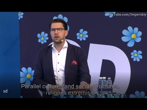 Sweden Democrats Jimmie Åkesson - Full Speech in Almedalen (English Subtitles)