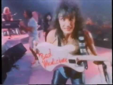 Bon Jovi 80s video - Bad Medicine