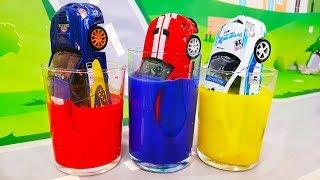 Мультики про машинки. Учим цвета машинок - Learn Colors for cars. Развивающие мультики