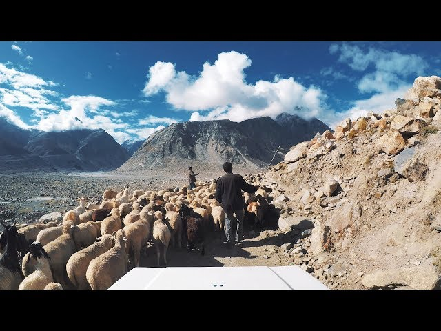 Road from Spiti to Manali