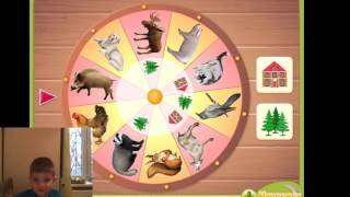Малыш сам играет - игра дикие или домашние?The kid himself is played - the game of wild or Pets?