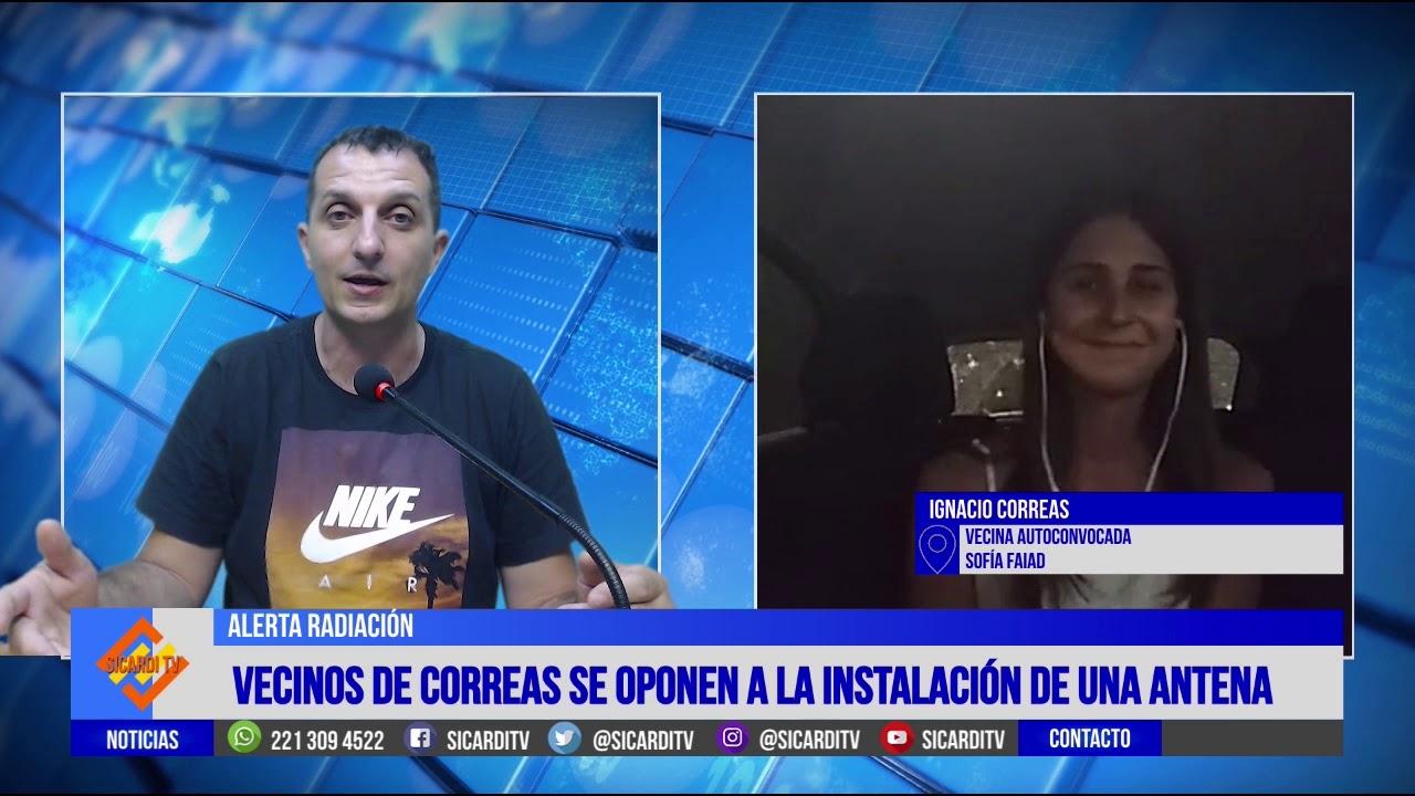 Ignacio Correas: autoconvocados se oponen a una antena de telefonía celular