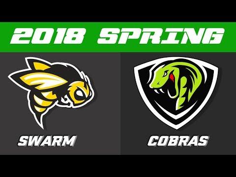 2018 TUFFHer Spring Season | Swarm vs Cobras