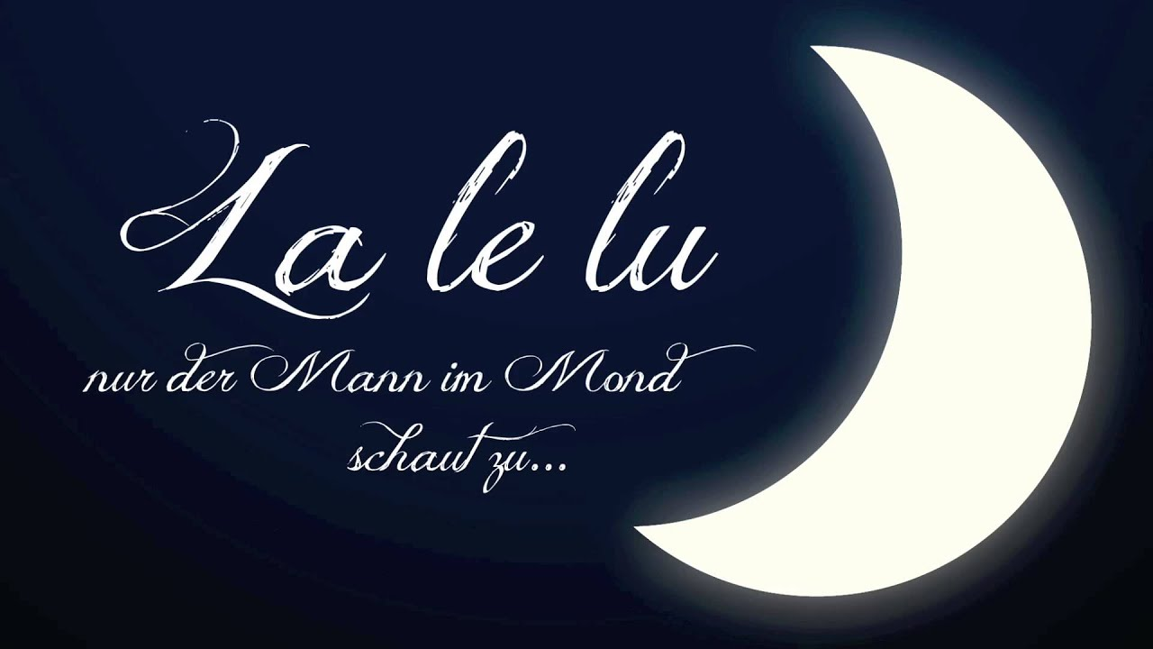 Lalelu Schlaflied
