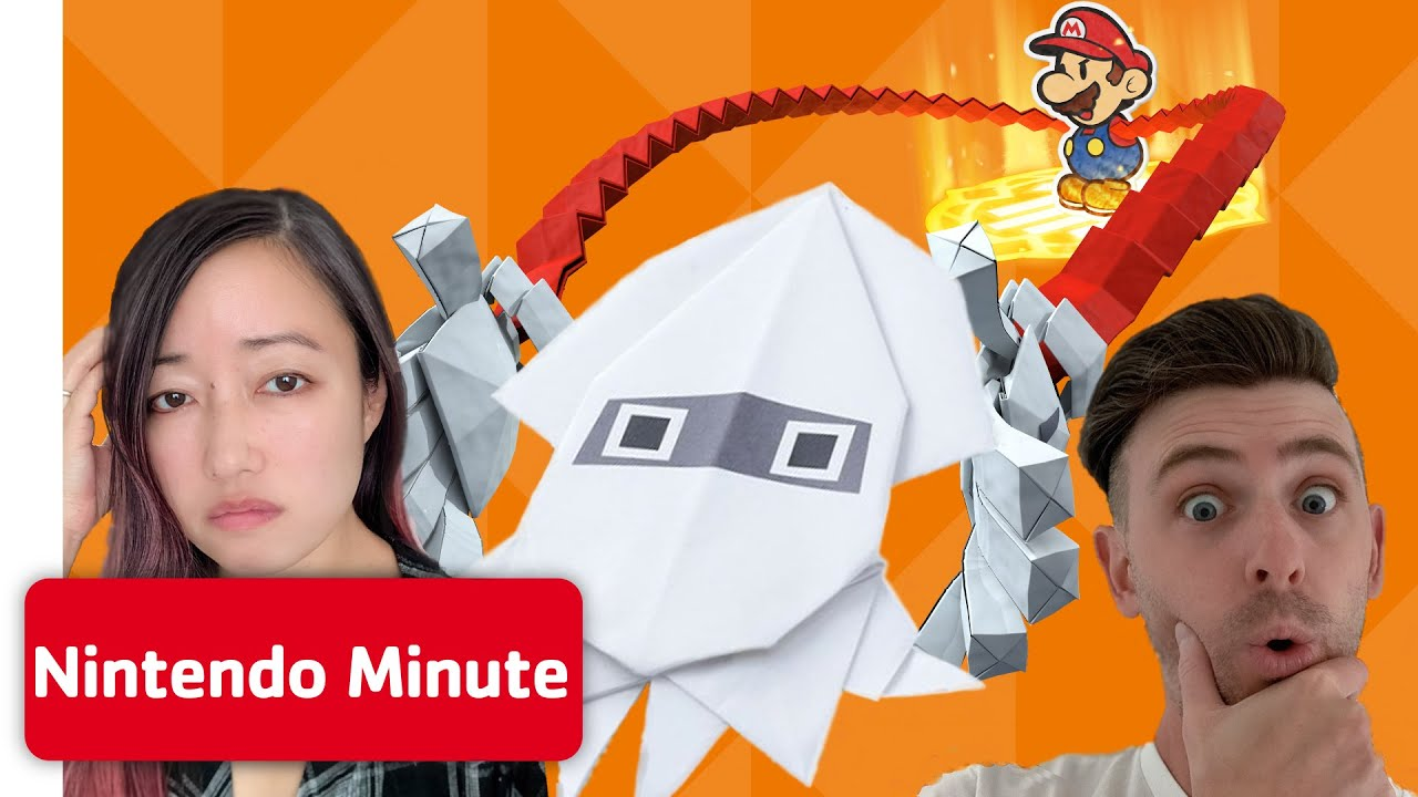 We Attempt EXPERT Paper Mario: The Origami King DIYs - Nintendo