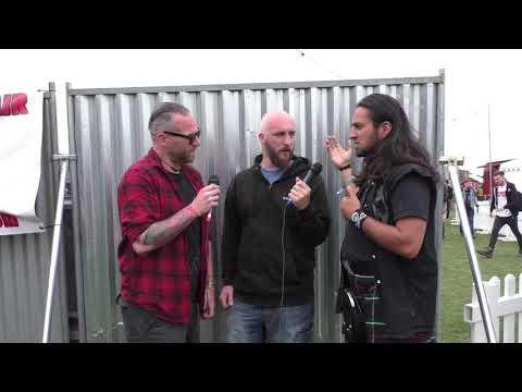 Ramage Inc  Interview Bloodstock Festival 2017