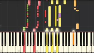 Jean-Jacques Goldman -Encore un matin  Piano 100% Synthesia.