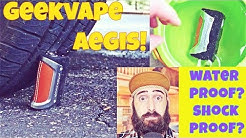 TOUGHEST 100 Watt Mod! Best For Construction Workers Who Vape! Vaping The Aegis By Geek Vape!