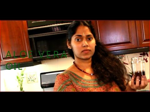 ALOE VERA HAIR OIL--Kattar vazha oil - YouTube