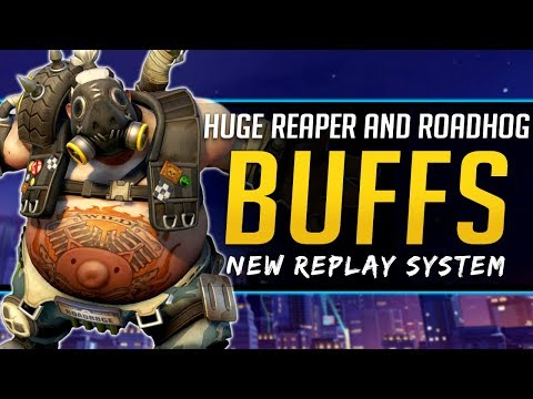 Overwatch HUGE Buffs Reaper & Roadhog - New Replay System Announced! thumbnail
