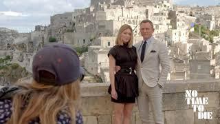 NO TIME TO DIE - Daniel Craig, Léa Seydoux e Cary Fukunaga em Matera