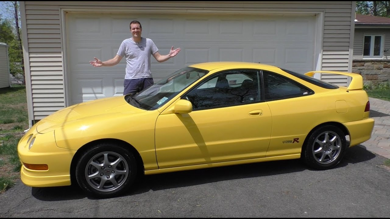 Acura Type R >> Here S Why The Acura Integra Type R Is Shooting Up In Value Youtube