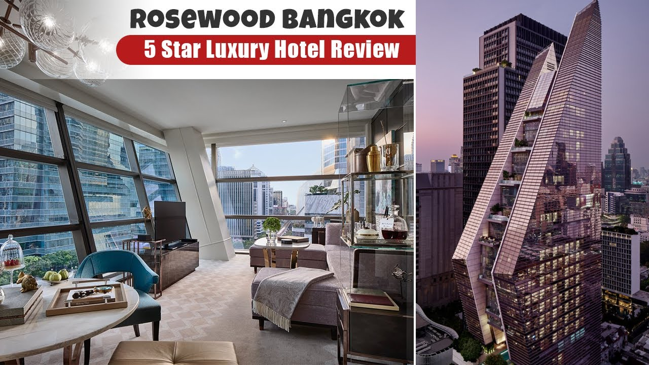 Amazing Luxury Experience at Rosewood Hotel In Bangkok | Full Tour & Review