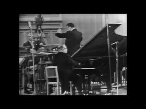 Lev Oborin plays Khachaturian: Piano Concerto in D-flat major, Op. 38. 1st movement (1966)